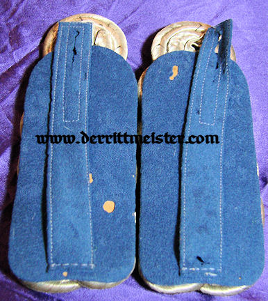 PAIR OF OBERSTLEUTNANT SHOULDER BOARDS - INFANTERIE-REGIMENT Nr 57 - PRUSSIA - Imperial German Military Antiques Sale
