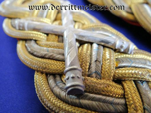 BAVARIA - SHOULDER BOARDS - GENERALFELDMARSCHALL - Imperial German Military Antiques Sale