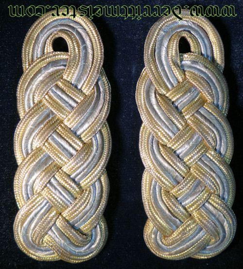 BAVARIA - SHOULDER BOARDS - GENERALMAJOR - Imperial German Military Antiques Sale