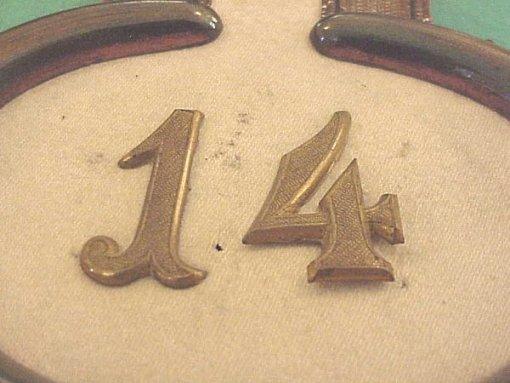 PRUSSIA - EPAULETTS - MAJOR - INFANTERIE-REGIMENT Nr 14 - Imperial German Military Antiques Sale