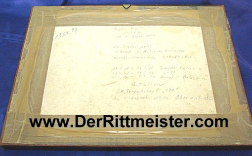 FRAMED PHOTOGRAPH - MATROSEN DIVISION SAILORS - CHINA - Imperial German Military Antiques Sale