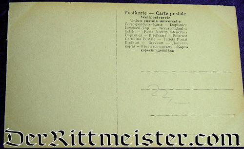 POSTCARD - CROWN PRINCE WILHELM AND CROWN PRINCESS CECILIE - Imperial German Military Antiques Sale