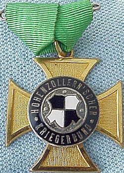VETERANS PIN - HOHENZOLLERN - Imperial German Military Antiques Sale