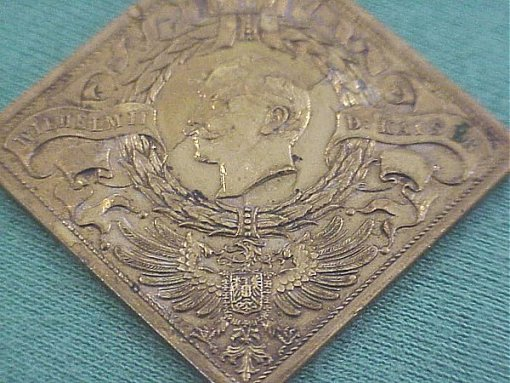 GERMANY - MEDAL - OBSERVING THE 31st BIRTHDAY OF KAISER WILHELM II - Imperial German Military Antiques Sale