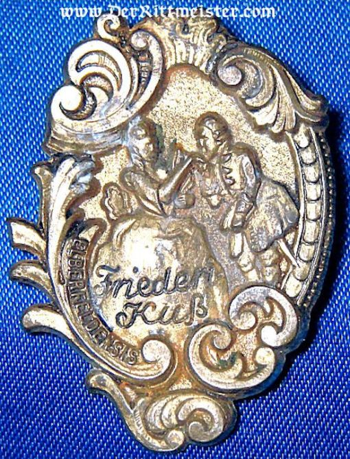 GERMANY - BADGE - UNIDENTIFIED CIVILIAN - Imperial German Military Antiques Sale