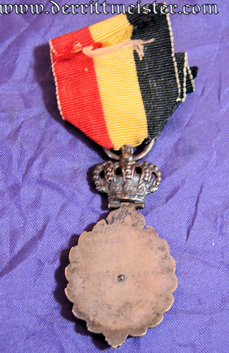 BELGIUM - DECORATION  - 2ND CLASS - INDUSTRIELLE ET AGRICOLE (DECORATION - INDUSTRY AND AGRICULTURE) - - Imperial German Military Antiques Sale
