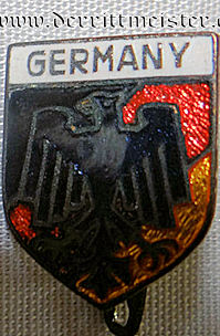 PATRIOTIC PIN SHOWING GERMANY - Imperial German Military Antiques Sale