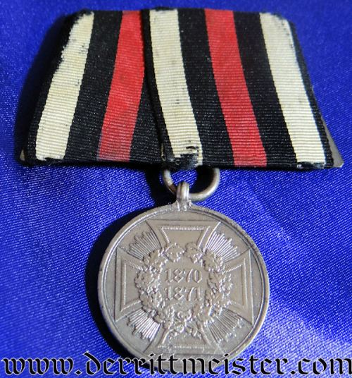PRUSSIA - MEDAL BAR - ONE PLACE - 1870-1871 NON COMBATANTS WAR MEDAL - Imperial German Military Antiques Sale