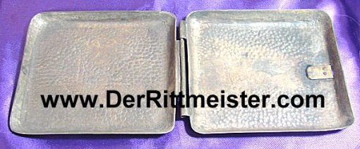 "CIGARETTE CASE - featuring an Iron Cross and ""Verdun 1916 - Imperial German Military Antiques Sale"