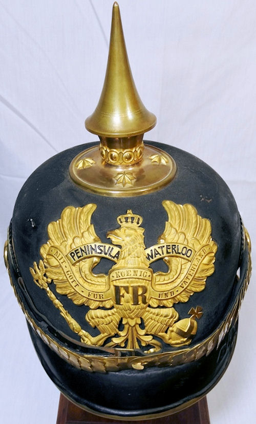 PRUSSIAN - PICKELHAUBE - OFFICER - FÜSILIER REGIMENT Nr 73 - Imperial German Military Antiques Sale