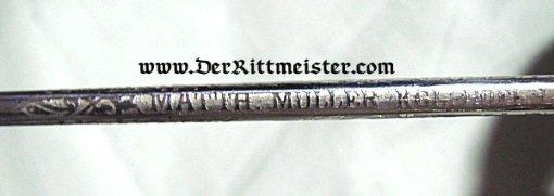 NCO SWORD - GARDE-REITER-REGIMENT - SAXONY - Imperial German Military Antiques Sale