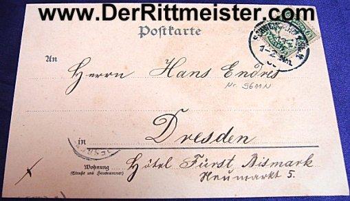 COLOR POSTCARD - PRINZREGENT LUITPOLD - BAVARIA - Imperial German Military Antiques Sale