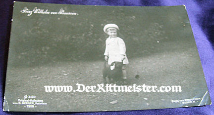 POSTCARD - ELDEST SON - PRINZ WILHELM - CROWN PRINCE WILHELM AND CROWN PRINCESS CECILIE - Imperial German Military Antiques Sale