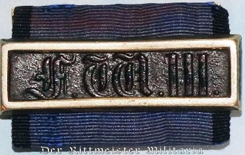 MILITARY LONG SERVICE AWARD 2nd CLASS - KÖNIG FRIEDRICH WILHELM III - Imperial German Military Antiques Sale