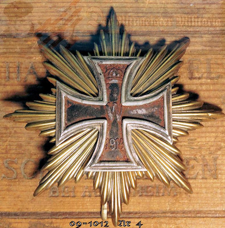 IRON CROSS - 1914 - FOUR STARS OF THE GRAND CROSS - Der Rittmeister  Militaria LLC