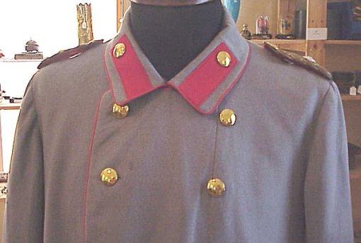 PRUSSIA - TUNIC - GENERALLEUTNANT - HELLGRAU LITEWKA - Imperial German Military Antiques Sale