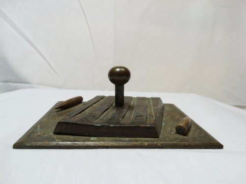 TRENCH ART DESK DECORATION - Imperial German Military Antiques Sale