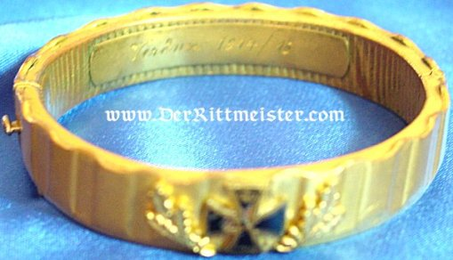 PATRIOTIC BRACELET - TRENCH-ART