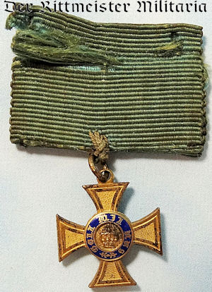 MINIATURE CROWN ORDER 4th CLASS - PRUSSIA - Imperial German Military Antiques Sale