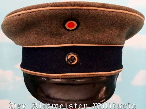PRUSSIA - SCHIRMÜTZE - NCO - KÜRAßIER-REGIMENT Nr 8 - Imperial German Military Antiques Sale