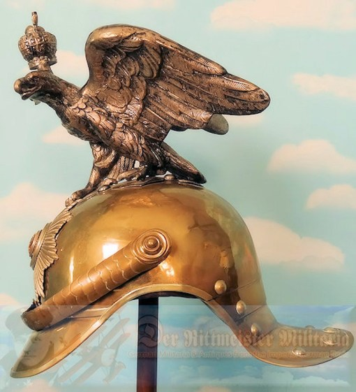RUSSIA - HELMET - ENLISTED MAN/NCO - GARDE du CORPS - Imperial German Military Antiques Sale