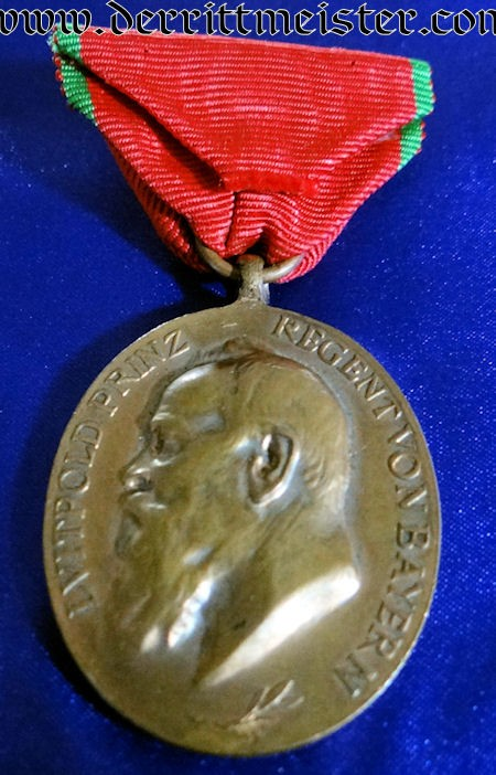 PRINZ REGENT 1905 ARMY MEDAL - BAVARIA - Imperial German Military Antiques Sale