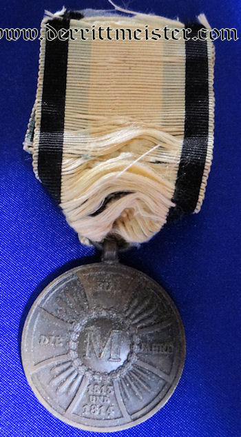 BAVARIA - MILITARY MERIT MEDAL - OFFICIAL - 1813-1814 - Imperial German Military Antiques Sale