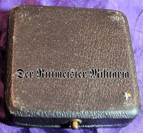 IRON CROSS - 1914 - 1st CLASS - HIGH VAULTED - .800 SILVER - ORIGINAL PRESENTATION CASE - Imperial German Military Antiques Sale