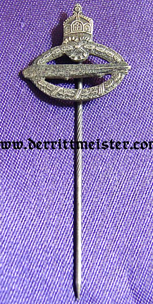 COMMEMORATIVE NAVY AIRSHIP BADGE - STICKPIN - Imperial German Military Antiques Sale