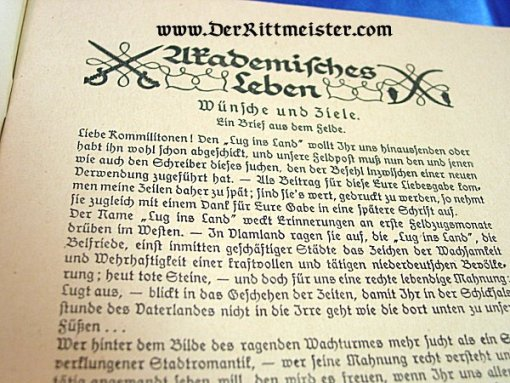 GERMANY - MAGAZINE - DIE HOCHSCHULE MAGAZINE - Imperial German Military Antiques Sale