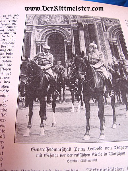 "GERMANY - MAGAZINE - VOLUME Nr 32 - ""DIE GROßE ZEIT"" - Imperial German Military Antiques Sale"
