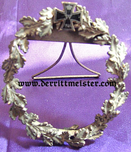 1914 IRON CROSS FRAME IN METAL - Imperial German Military Antiques Sale