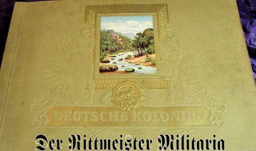 CIGARETTE CARD ALBUM - DEUTSCHE KOLONIEN - Imperial German Military Antiques Sale