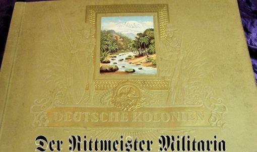 GERMANY - CIGARETTE CARD ALBUM - DEUTSCHE KOLONIEN - Imperial German Military Antiques Sale