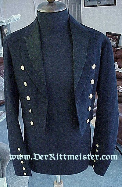 PRUSSIA - DRESS MESS JACKET - NAVY - KAISERLICHER YACHT CLUB - Imperial German Military Antiques Sale