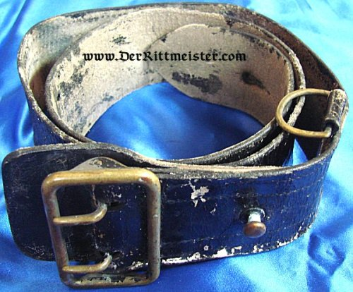 GERMANY - FIELD BELT AND BUCKLE - OFFICER - Imperial German Military Antiques Sale