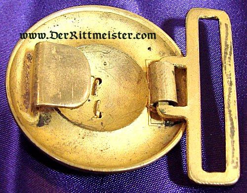 BADEN - BELT BUCKLE - OFFICER - INFANTERIE - Imperial German Military Antiques Sale