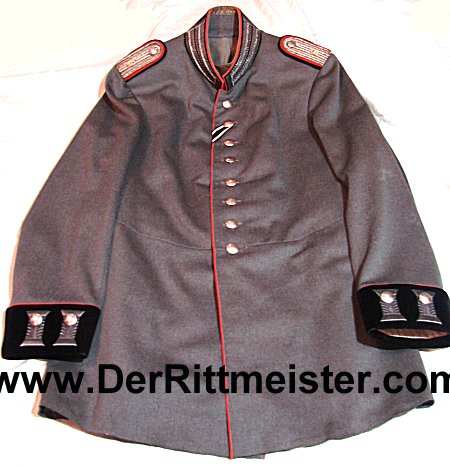 PRUSSIA - TUNIC - LEUTNANT - M-1915 FELDGRAU FRIEDENSUNIFORM - PIONIER-Bataillon Nr 6 - Imperial German Military Antiques Sale