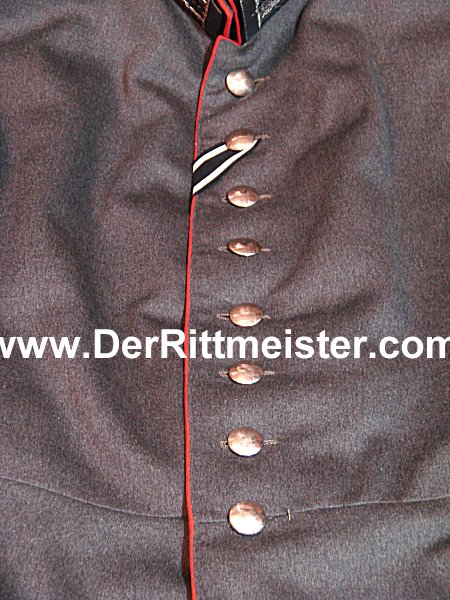 PRUSSIA - TUNIC - LEUTNANT - M-1915 FELDGRAU FRIEDENSUNIFORM - PIONIER-Bataillon Nr 6 - Imperial German Military Antiques Sale