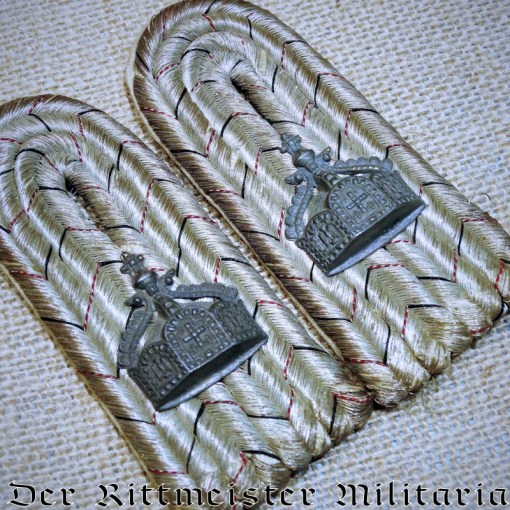 SHOULDER BOARDS -NAVAL SEE-BATAILLON LEUTNANT'S. - Imperial German Military Antiques Sale