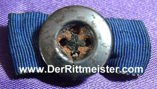 TWO-RIBBON BOUTONNIERE - Imperial German Military Antiques Sale