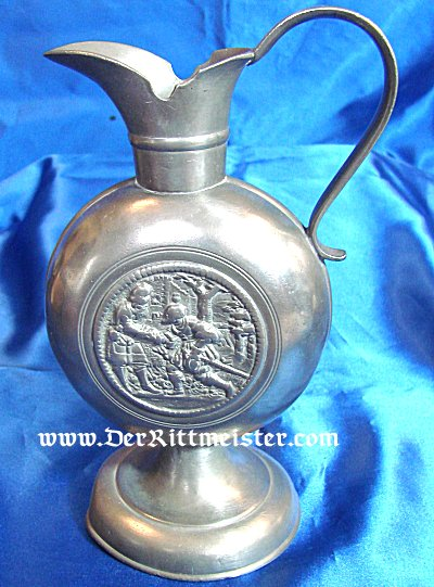 ONE-HANDLED PITCHER - METAL - Imperial German Military Antiques Sale