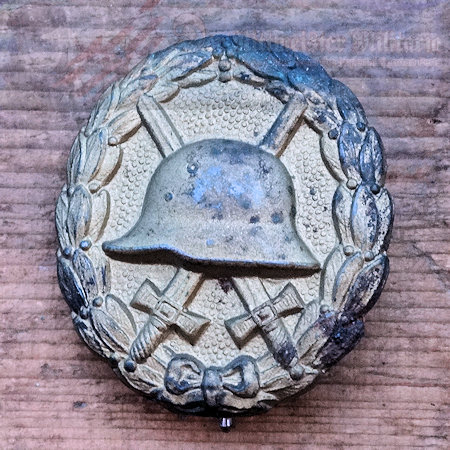 GERMANY - ARMY WOUND BADGE - GOLD - Der Rittmeister Militaria LLC