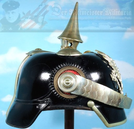 PRUSSIA - PICKELHAUBE – OFFICER - MILITARY ADMINISTRATION - Imperial German Military Antiques Sale