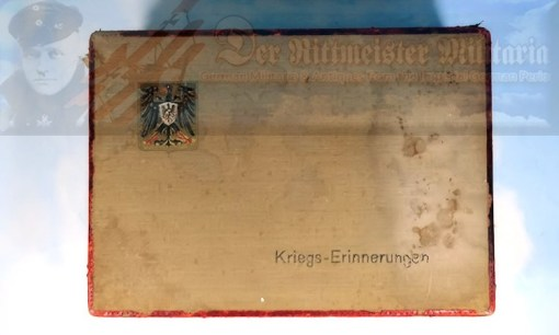 PATRIOTIC BOX - IMPERIAL GERMAN - WW I - Imperial German Military Antiques Sale