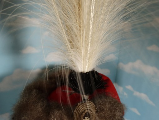 PRUSSIA - BUSBY - RESERVE OFFICER'S - 1. LEIB HUSAREN REGIMENT Nr 1 - WITH PARADE FEATHERS - Imperial German Military Antiques Sale