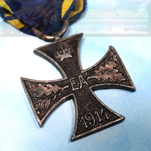 BRAUNSCHWEIG - 1914 WAR SERVICE CROSS 2nd CLASS - COMBATANT'S - Imperial German Military Antiques Sale