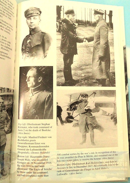 BOOK - SEPTEMBER EVENING: THE LIFE AND FINAL COMBAT OF THE GERMAN WORLD WAR ONE ACE WERNER VOSS BY BARRY DIGGENS - Imperial German Military Antiques Sale