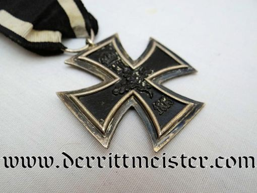 IRON CROSS - 1914 - 2nd CLASS WITH COMBATANT'S RIBBON - Imperial German Military Antiques Sale