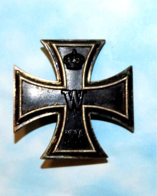 IRON CROSS - 1914 - 1st CLASS - WAGNER & SÖHNE HALLMARK - Imperial German Military Antiques Sale